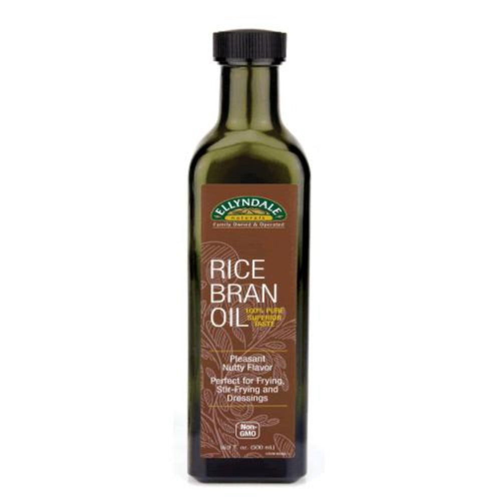 Now Foods Rice Bran Oil 16 Oz Foods & Snacks Now Foods  (1058720284715)