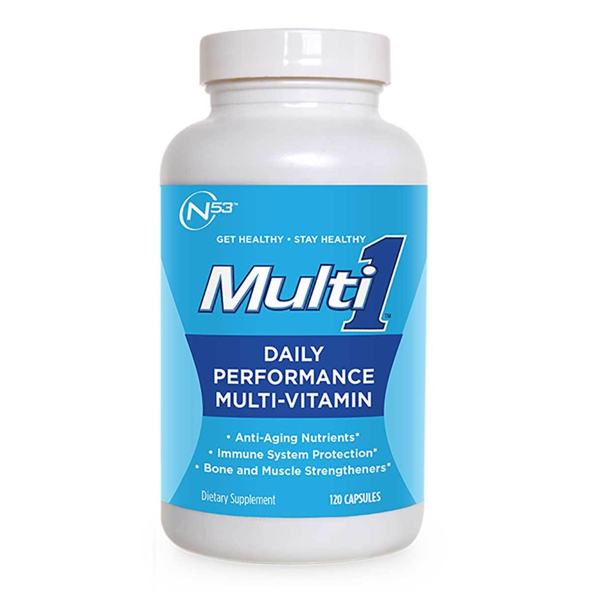 Nutrition 53 Multi 1 120 Caps Vitamins Nutrition 53  (1058967224363)