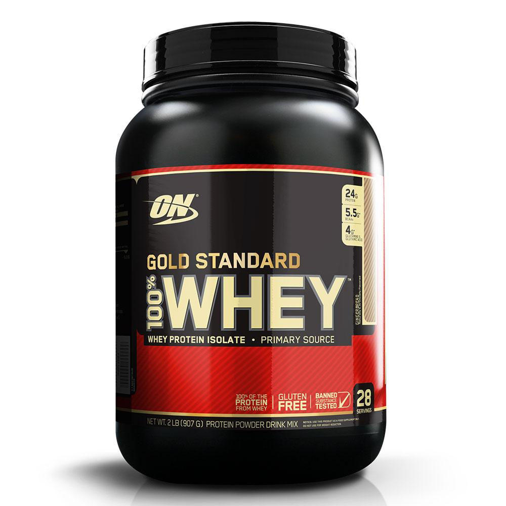 Optimum Nutrition 100% Whey Protein Gold Standard 2 Lbs Protein Optimum Nutrition Gingerbread  (1057917435947)