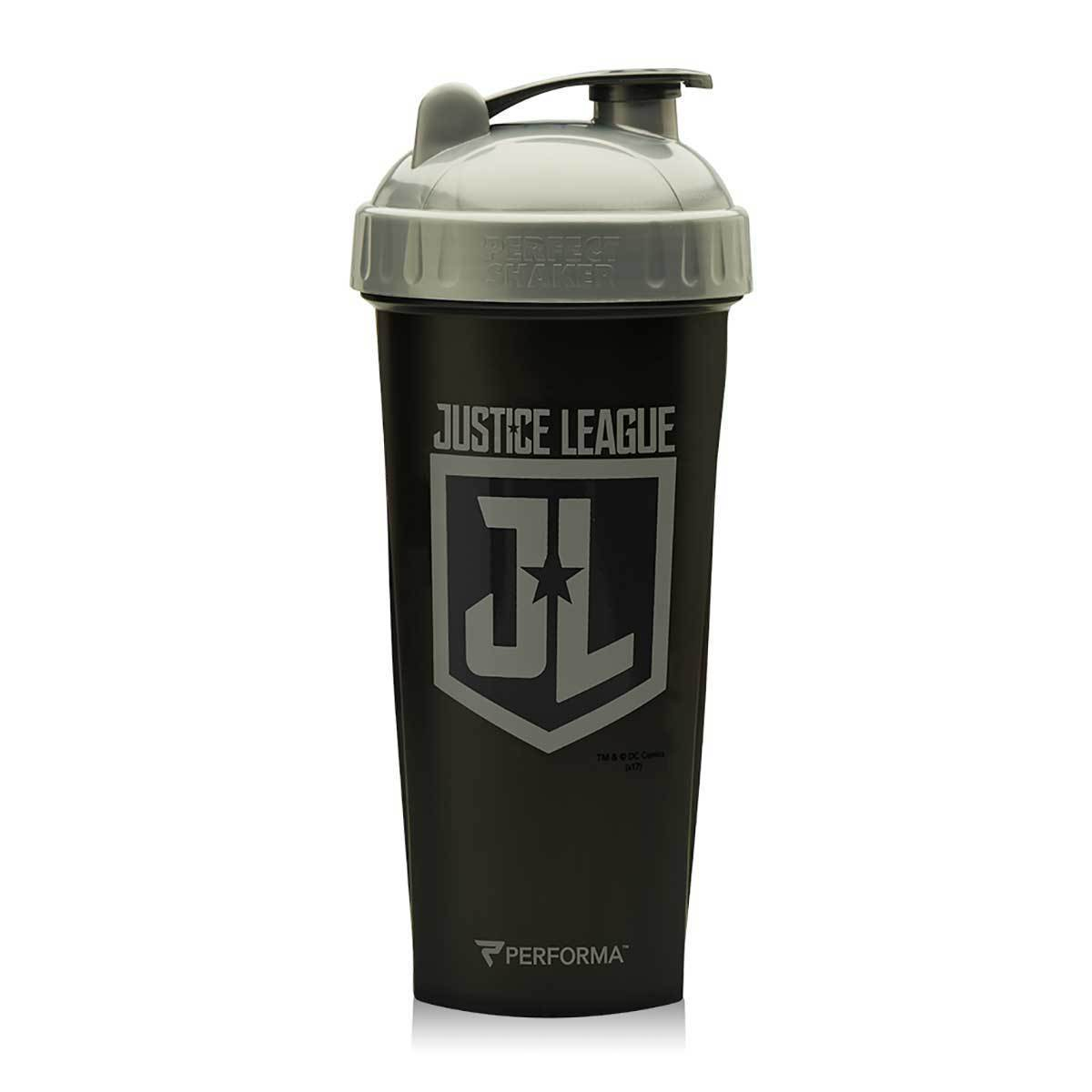 Justice League Shaker Bottle 28oz Fitness Accessories and Apparel PerfectShaker  (1059338223659)