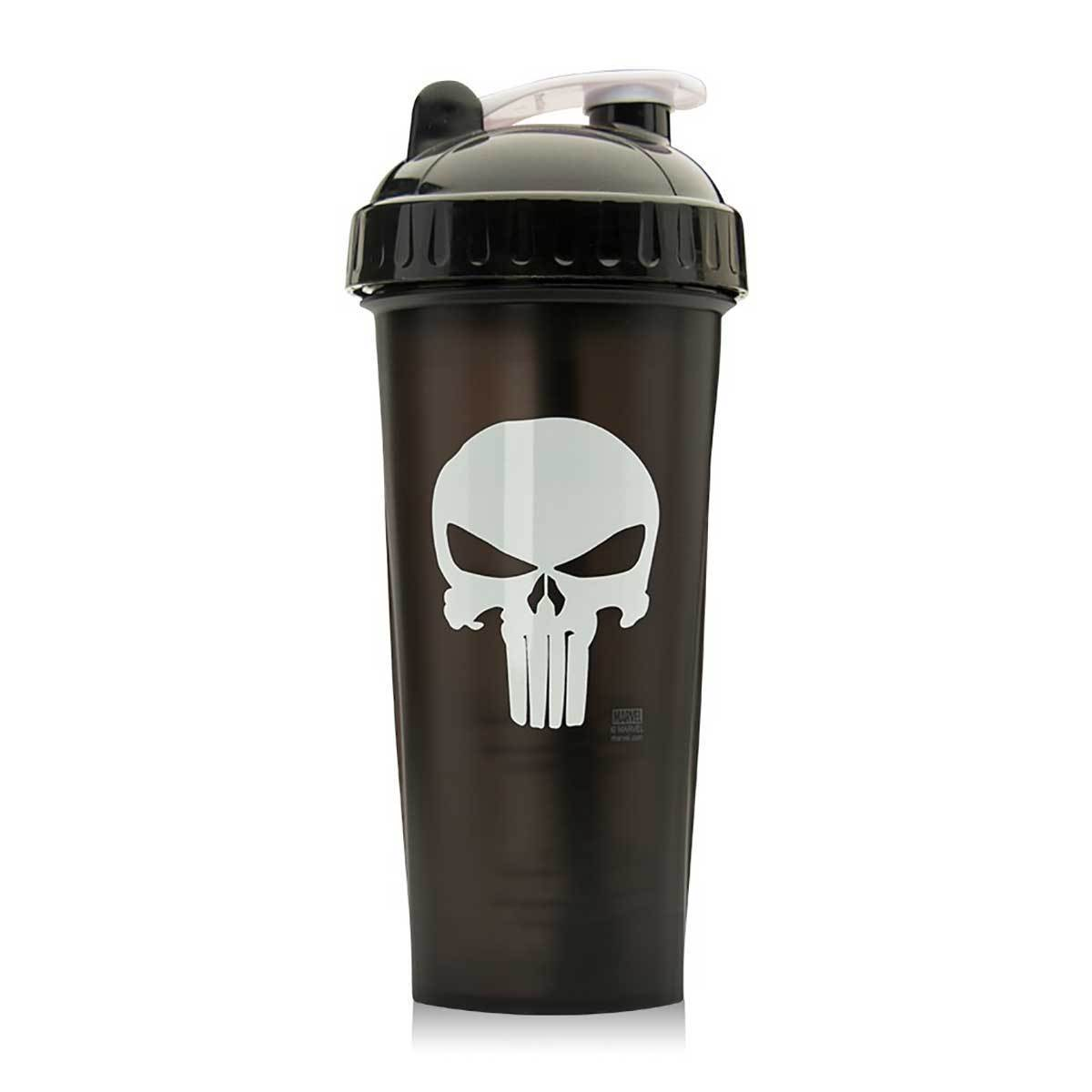 Punisher Shaker Bottle 28oz Fitness Accessories and Apparel PerfectShaker  (1059266199595)