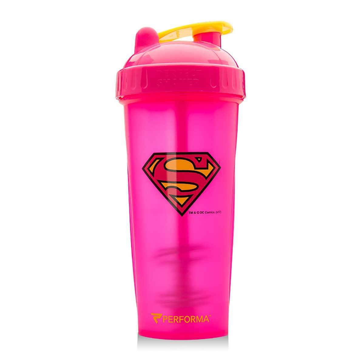 Super Girl Shaker Bottle 28oz Fitness Accessories and Apparel PerfectShaker  (1059299819563)