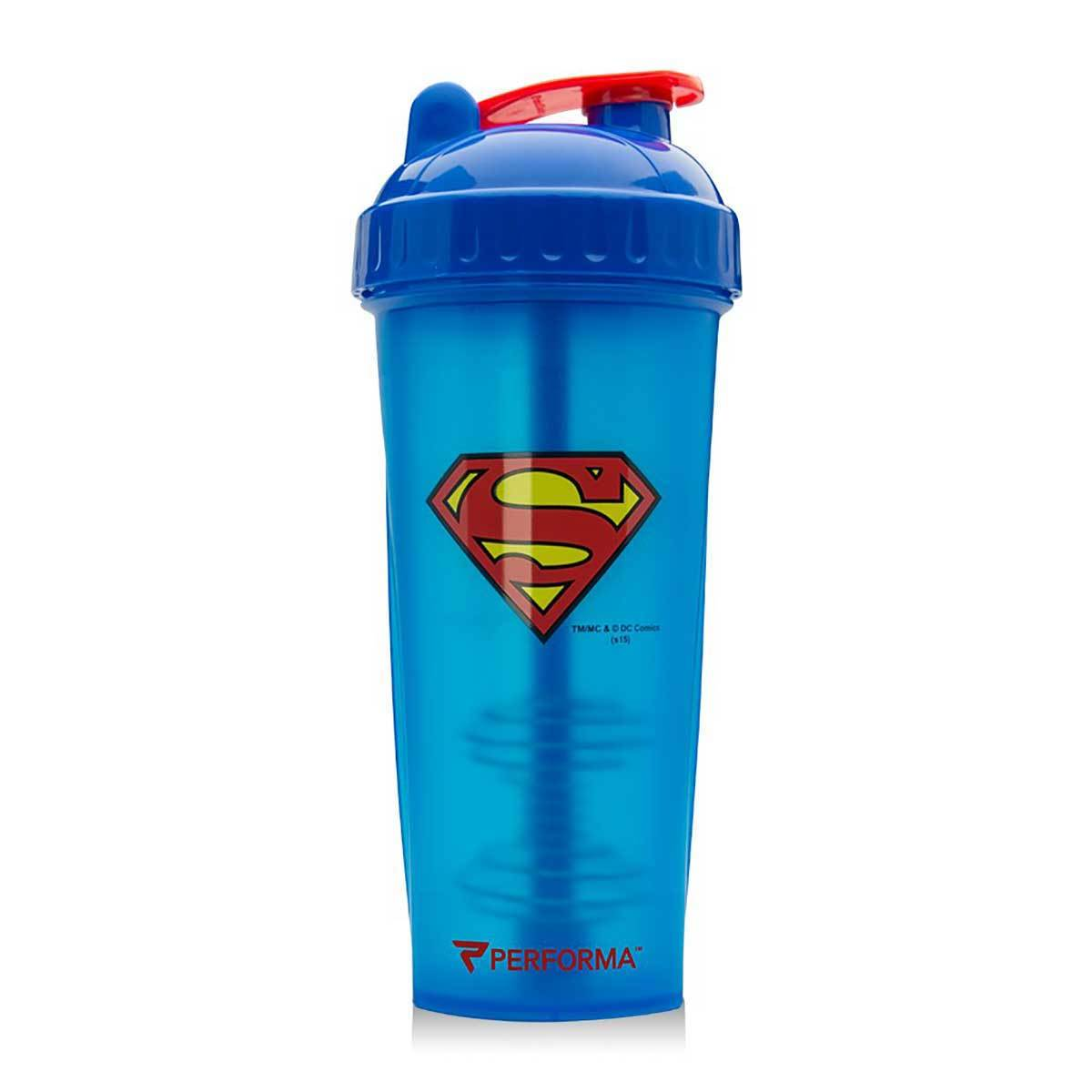 Superman Shaker Bottle 28oz Fitness Accessories and Apparel PerfectShaker  (1059260727339)