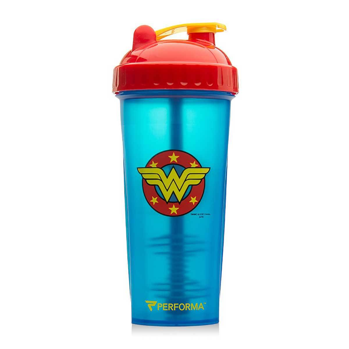Wonder Woman Shaker Bottle 28oz Fitness Accessories and Apparel PerfectShaker  (1059262332971)
