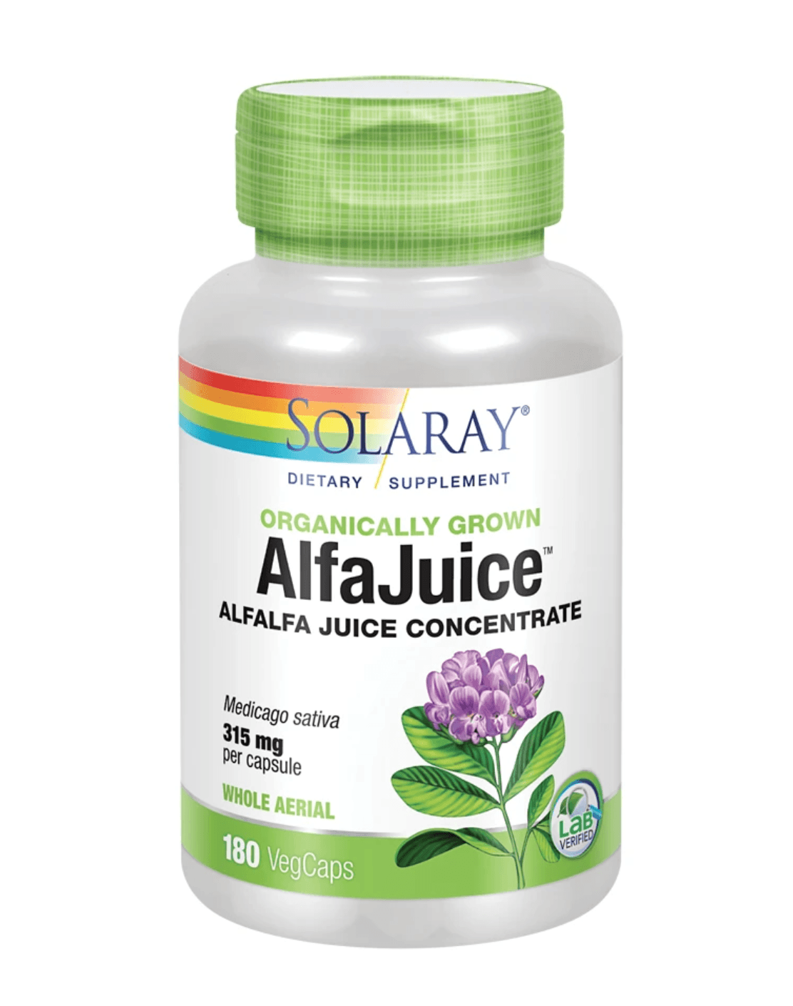 SOL ALFAJUICE 180C Store Stock Only Solaray