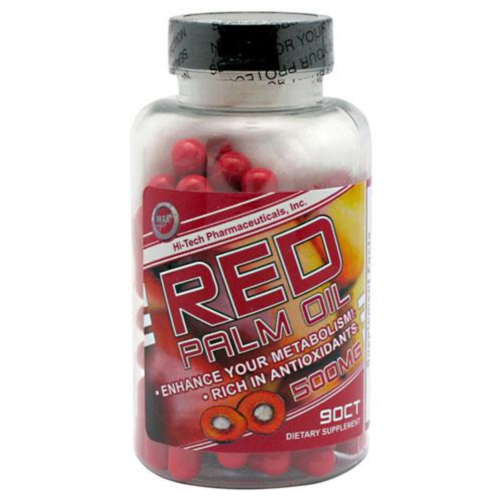 Hi-Tech Pharmaceuticals Red Palm Oil 90 Capsules Herbs Hi-Tech Pharmaceuticals  (1058925903915)