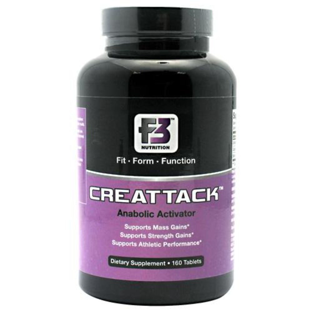 F3 Nutrition CreAttack 160 Tabs Creatine F3 Nutrition  (1058873507883)