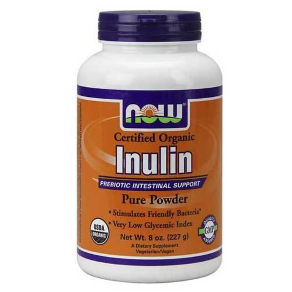 Now Foods Inulin Powder Pure Fos 8 Oz Digestive Health / Probiotics Now Foods  (1059112779819)