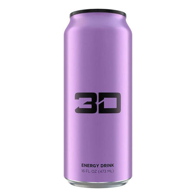 3D ENERGY DRINK 12/CASE Drinks UP ENERGY PURPLE  (1613762002987)