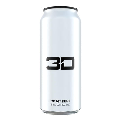 3D ENERGY DRINK 12/CASE Drinks UP ENERGY WHITE  (1613762002987)