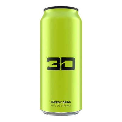 3D ENERGY DRINK 12/CASE Drinks UP ENERGY YELLOW  (1613762002987)