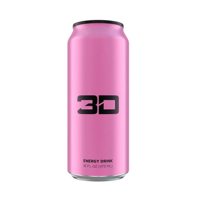 3D ENERGY DRINK 12/CASE Drinks UP ENERGY PINK  (1613762002987)
