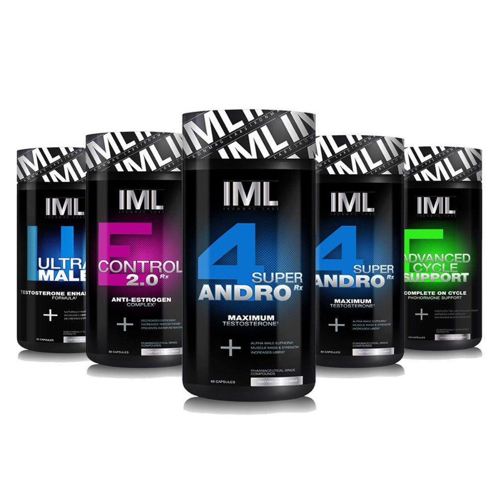 IronMag Labs 4-Andro Rx Stack Prohormones, Andro & Support IronMag Labs  (1161683697707)