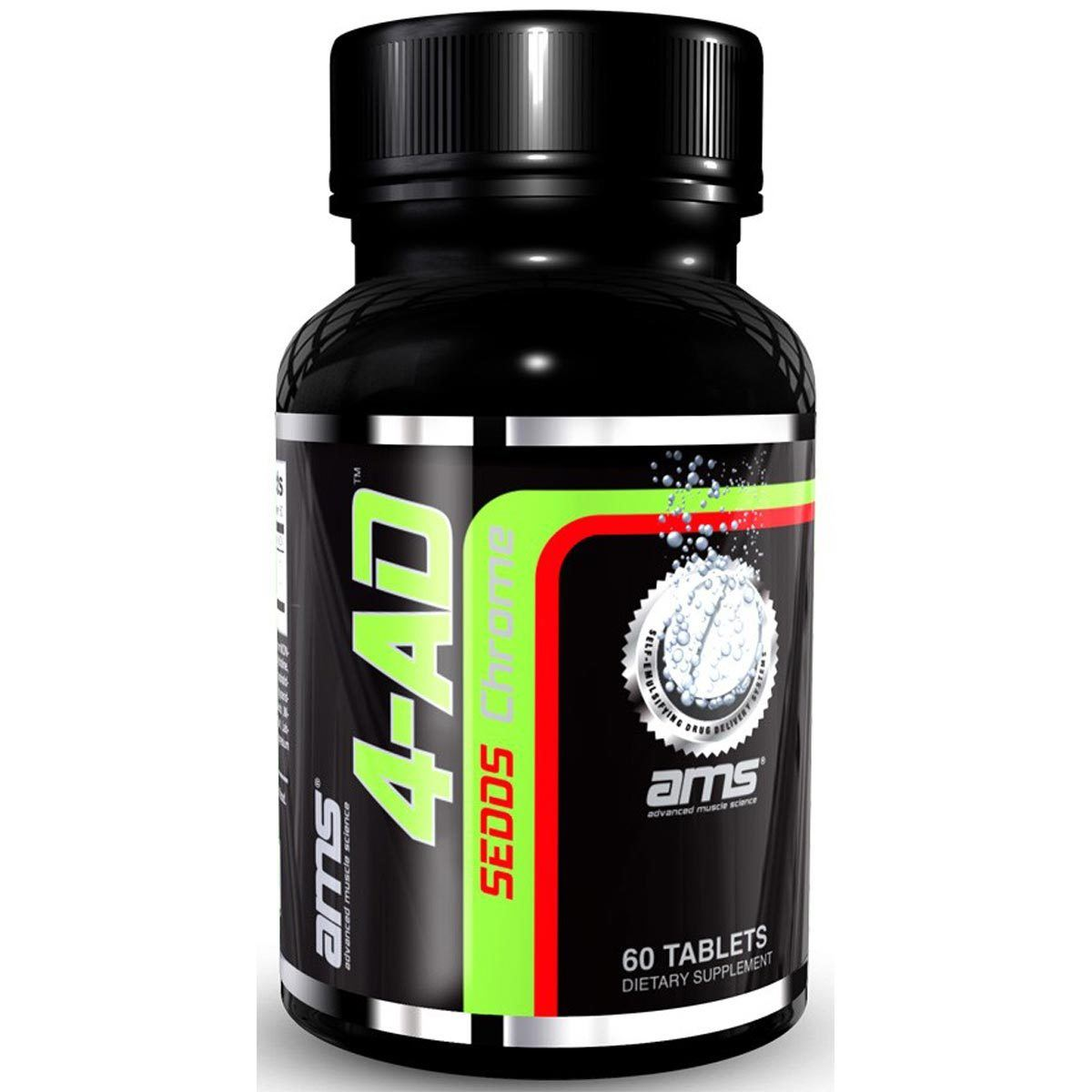 Advanced Muscle Science 4-AD CHROME 60T Testosterone Boosters Advanced Muscle Science  (1059303489579)