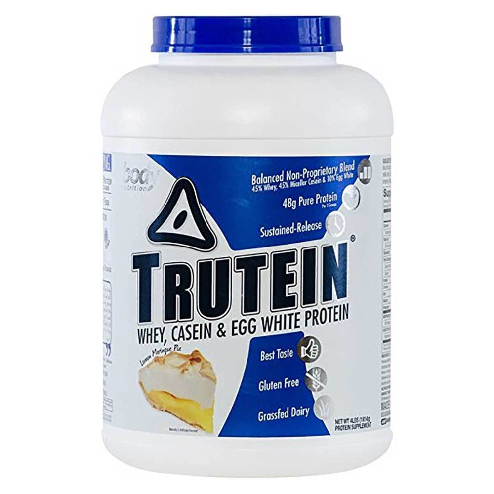 Body Nutrition Trutein 4 Lbs Protein Body Nutrition Lemon Meringue Pie  (1058632826923)