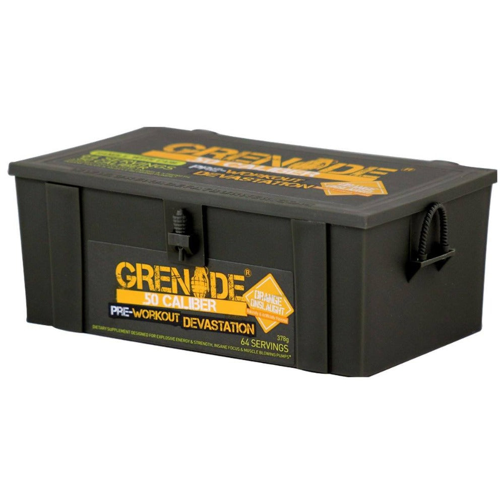 Grenade 50 Caliber 64 Servings Pre-workout Grenade  (1059171893291)