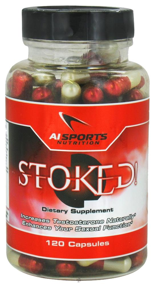 AI Sports Nutrition Stoked! 120 Caps Testosterone Boosters AI Sports Nutrition  (1058152153131)