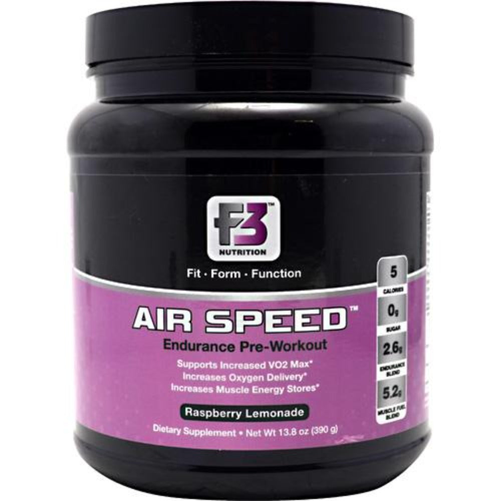 F3 Nutrition Air Speed Raspberry Lemonade 30 Servings Pre-workout F3 Nutrition  (1058872754219)