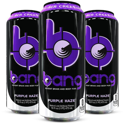 VPX Bang RTD 12/Case Diet/Energy VPX Purple Haze  (1058943205419)