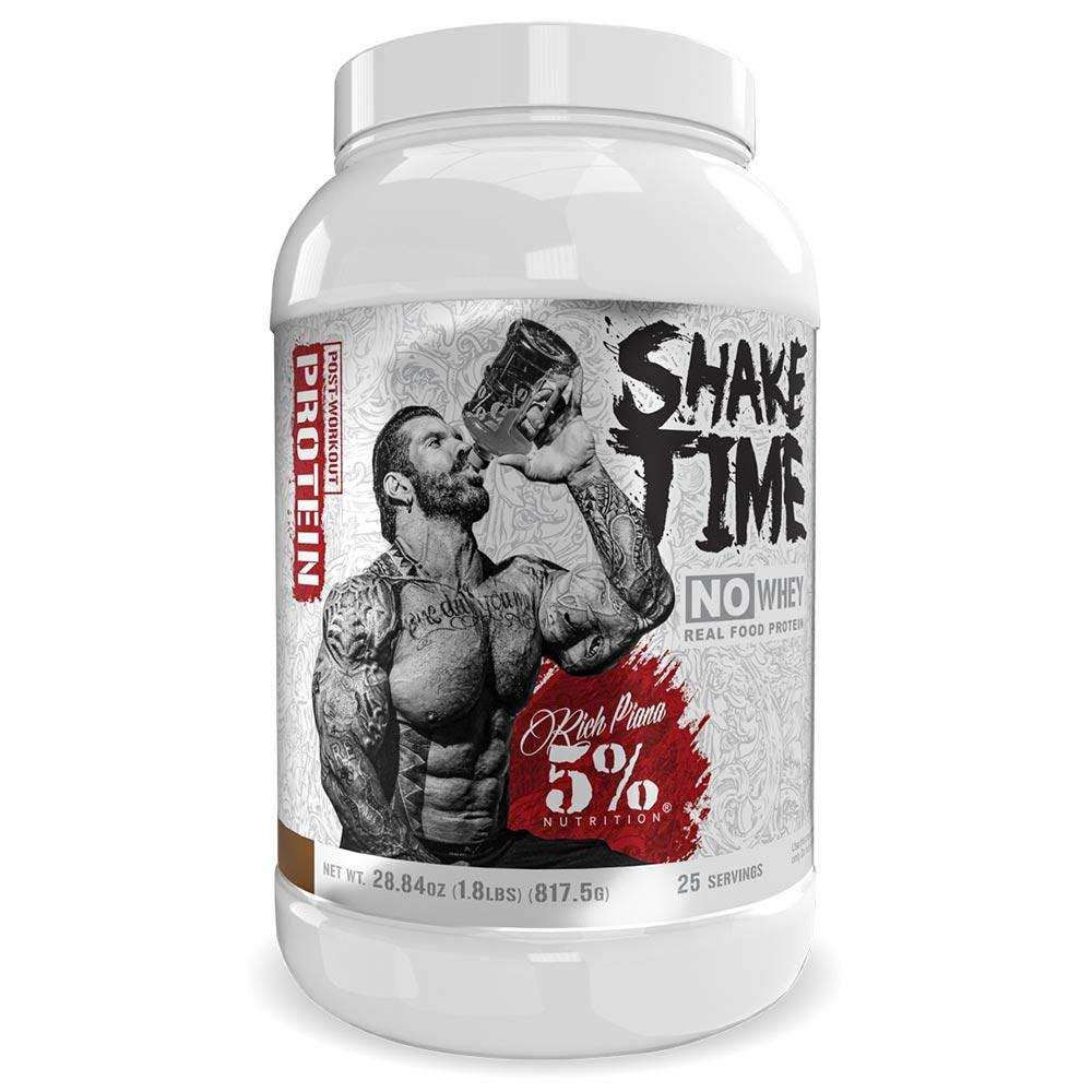 5% Nutrition Shake Time 25/sv Protein Powders 5% Nutrition Chocolate