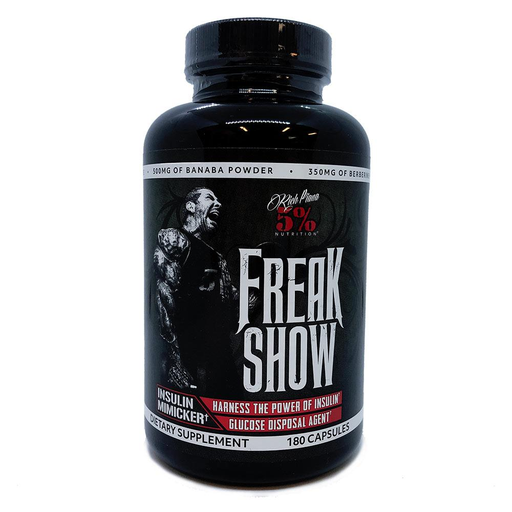 5% Nutrition Freak Show 180 Caps Sports Performance & - Recovery 5% Nutrition  (1692183756843)