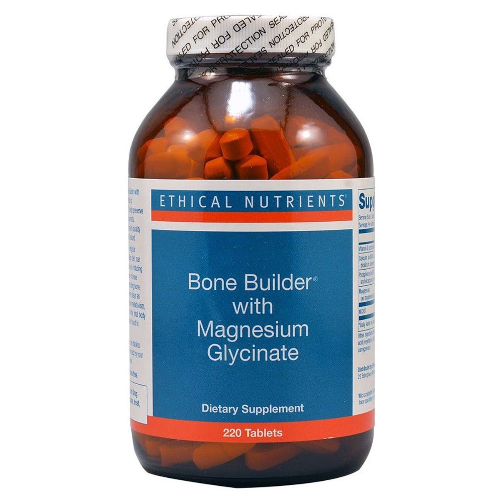 Ethical Nutrients Bonebuilder Magnesium Glycinate 220 Tabs Minerals Ethical Nutrients  (1057978417195)
