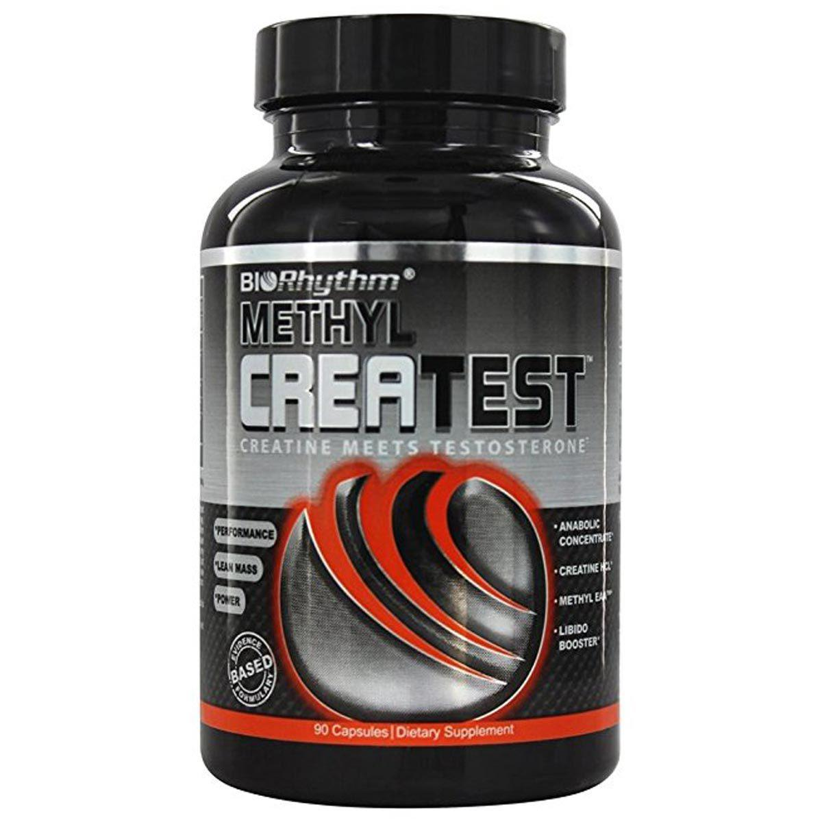 BioRhythm Methyl Createst 120 Caps Creatine BioRhythm  (1059193225259)