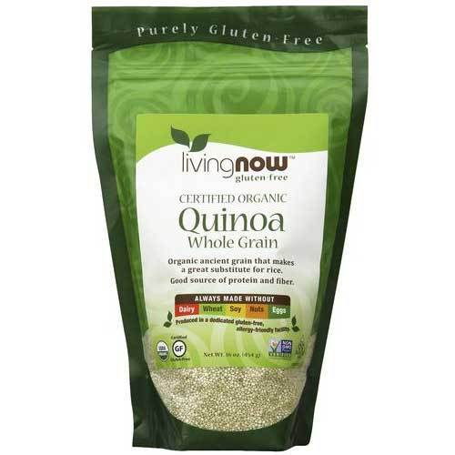 Now Foods Quinoa Grain Organic 1 Lb Amino Acids Now Foods  (1059166486571)