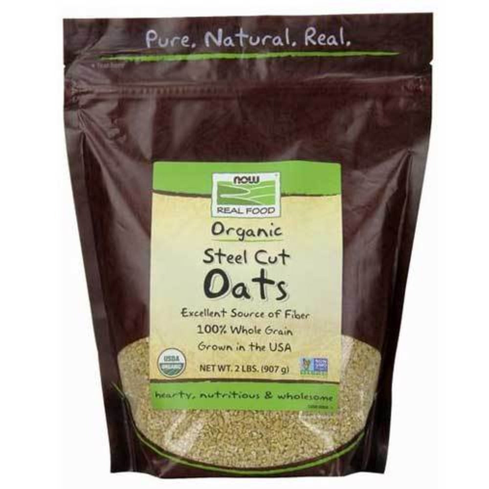 Now Foods Steel Cut Oats Org 2 Lb Foods & Snacks Now Foods  (1059119169579)