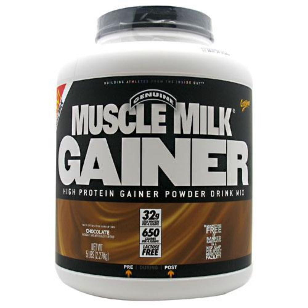 CytoSport Muscle Milk Gainer 5 lbs Protein CytoSport Chocolate  (1058914828331)