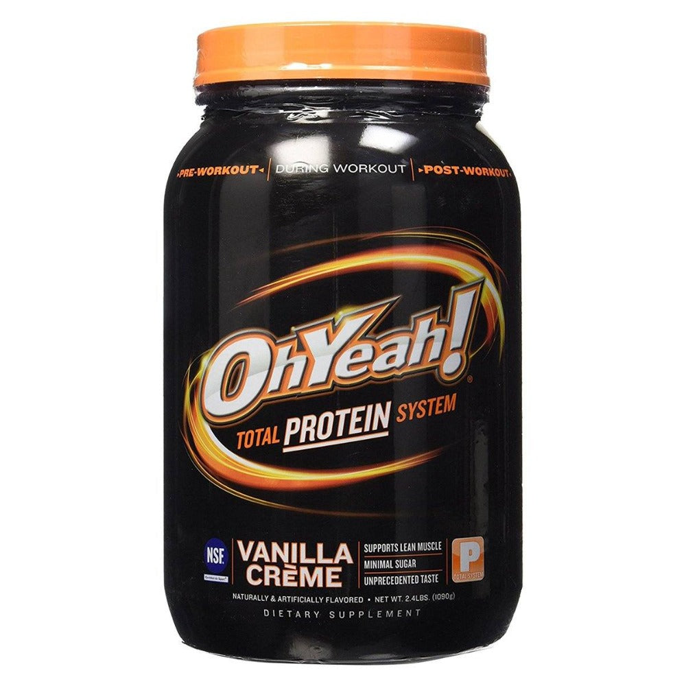 ISS Research OhYeah! Protein Powder 2.4 Lbs Protein ISS Research  (1058926985259)