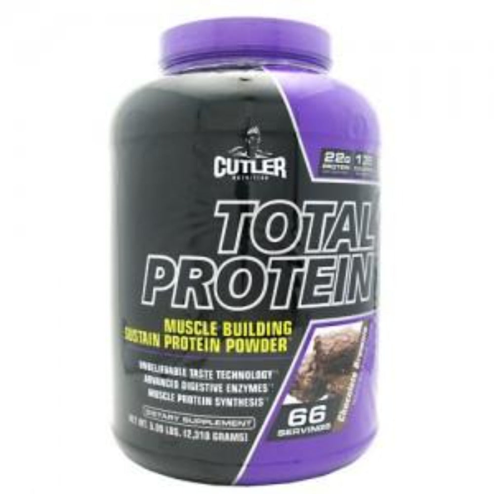 Cutler Nutrition Total Protein 5 Lbs Cutler Nutrition Chocolate Brownie  (1059061399595)