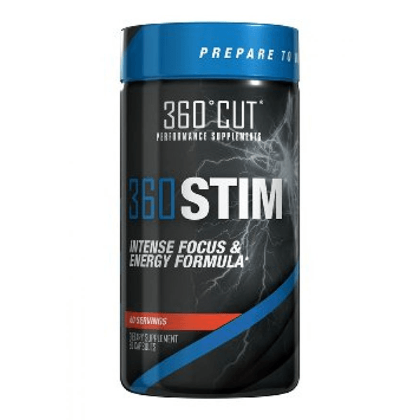360Cut 360Stim 60 Caps Diet/Energy 360Cut  (1059169304619)