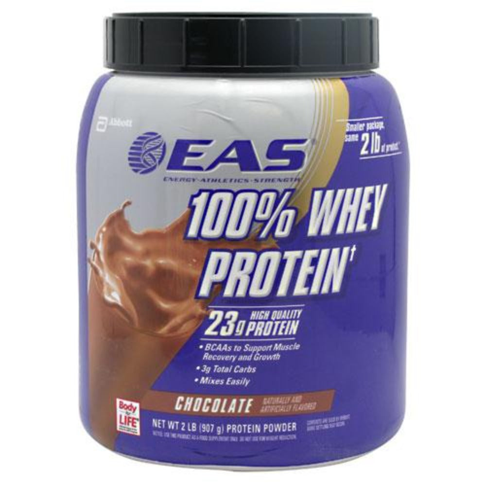 100% WHEY CHOCOLATE 2LB Protein EAS  (1058618212395)