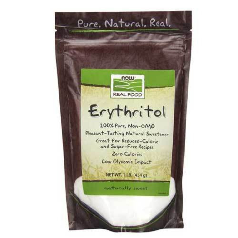 Now Foods Erythritol 1 Lb Foods & Snacks Now Foods  (1059116187691)