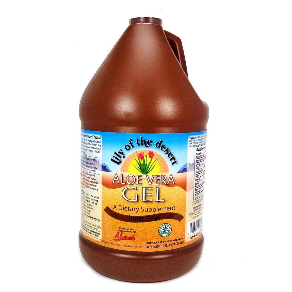 Lily of the Desert Aloe Vera Gel 1 Gallon Juices Lily of the Desert  (1058111815723)