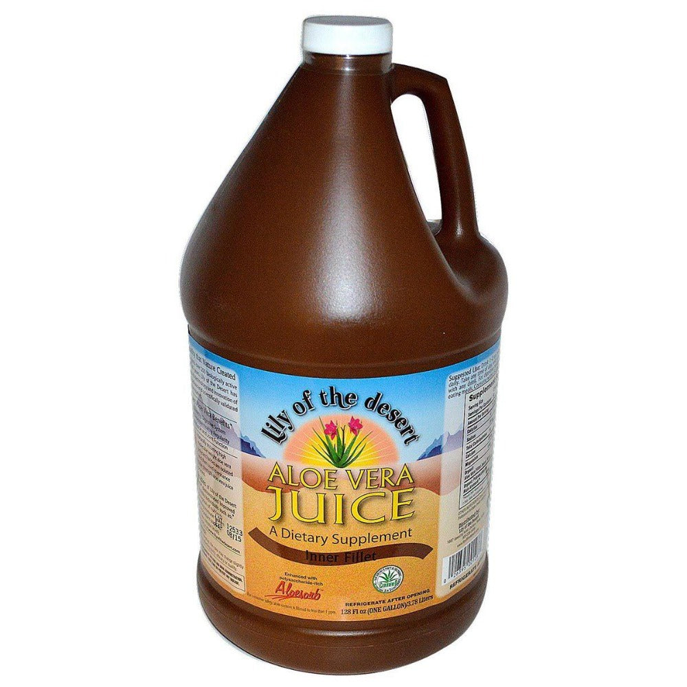 Lily of the Desert Aloe Vera Juice 1 Gallon Juices Lily of the Desert  (1057976352811)
