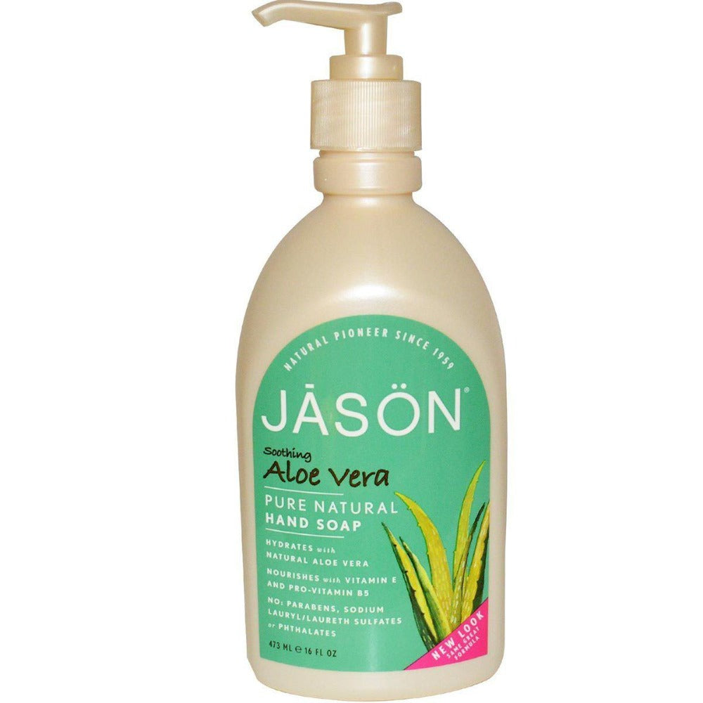 Jason Aloe Vera Satin Soap 16oz Personal Care Jason  (1057907277867)