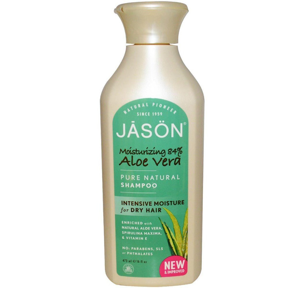 Jason Aloe Vera Shampoo 18 oz Personal Care Jason  (1057907146795)
