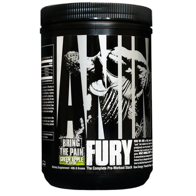 Universal Animal Fury 30 Servings Pre-workout Universal Green Apple  (1059279732779)