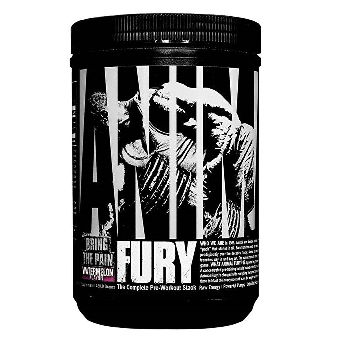 Universal Animal Fury 30 Servings Pre-workout Universal Watermelon  (1059279732779)