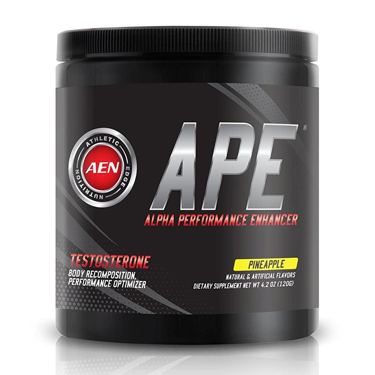 Athletic Edge Nutrition APE Pineapple 20 Servings Testosterone Boosters Athletic Edge Nutrition  (1058943598635)