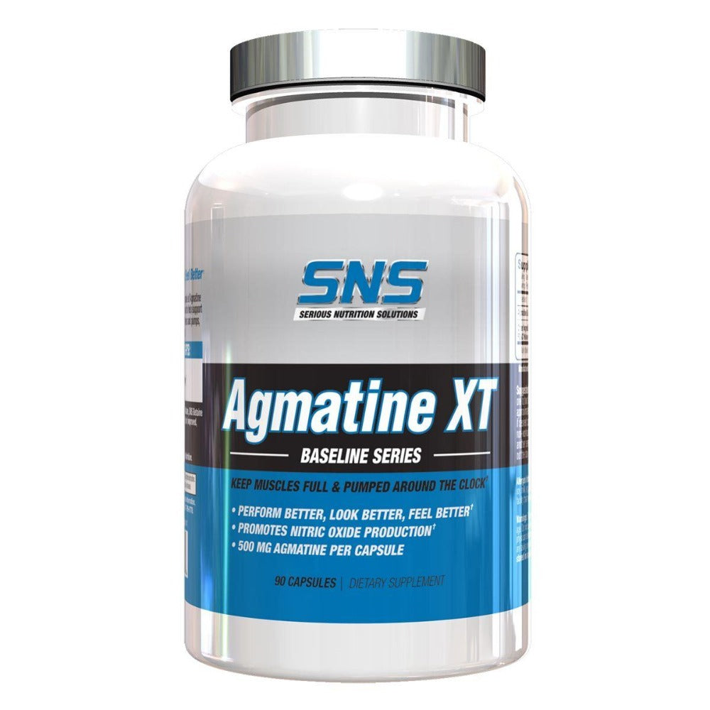 Serious Nutrition Solutions Agmatine XT 500mg 90 Caps Pre-workout Serious Nutrition Solutions  (1058665234475)