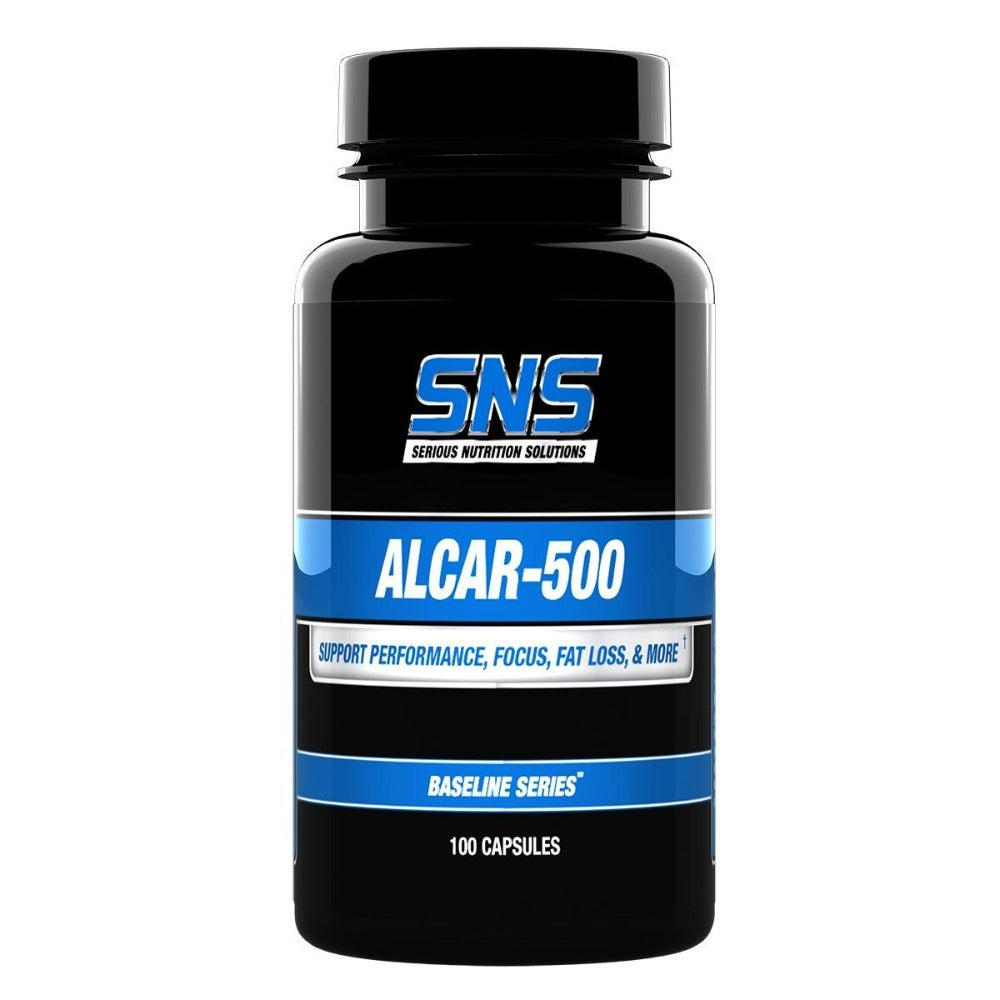 Serious Nutrition Solutions ALCAR 500 100 Caps Amino Acids Serious Nutrition Solutions  (1059042525227)