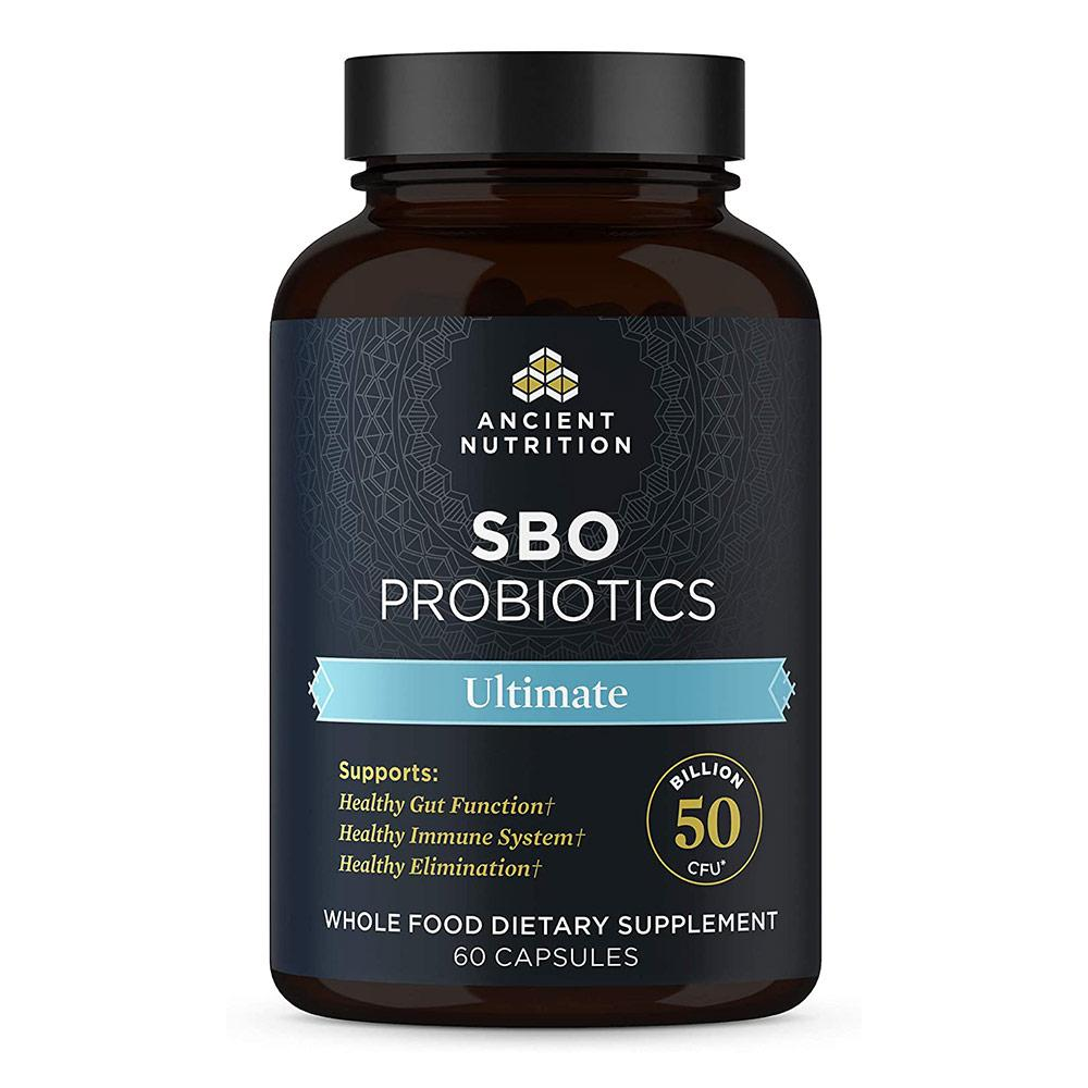 Ancient Nutrition SBO Probiotics Ultimate 60c Digestive Health Ancient Nutrition  (4514538618945)