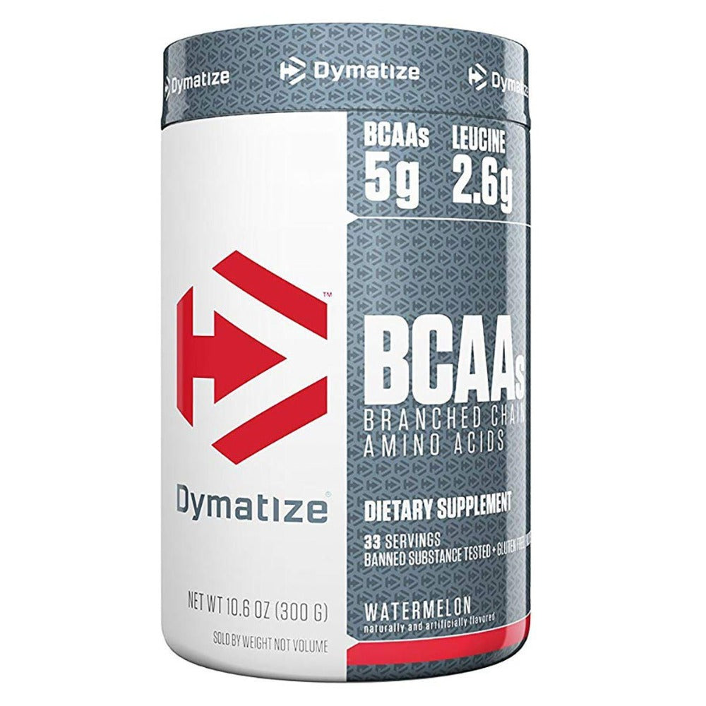 Dymatize BCAA Powder 33 Servings Watermelon Amino Acids Dymatize  (1403390459947)