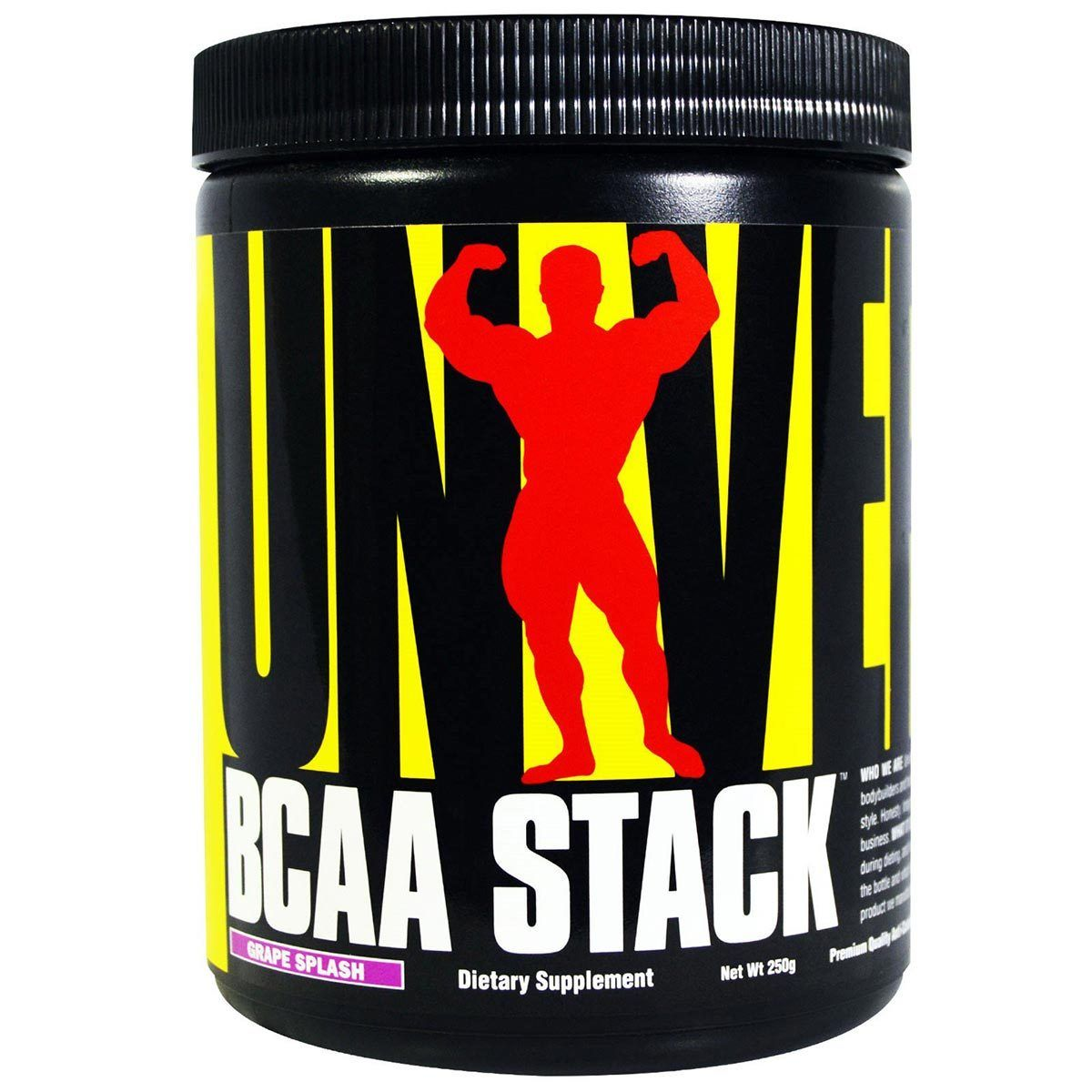Universal BCAA Stack 250 Grams Amino Acids Universal Grape  (1057979105323)