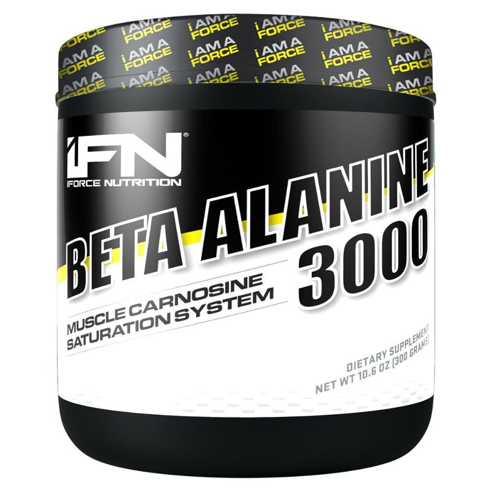 IFORCE Beta Alanine 3000 300 Grams Sport Performance / Recovery IFORCE  (1058316615723)