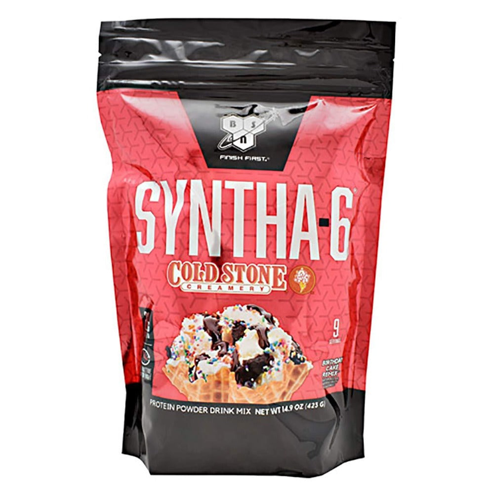 Syntha-6 Cold Stone Creamery 9 Servings Protein Powders BSN  (1540628021291)