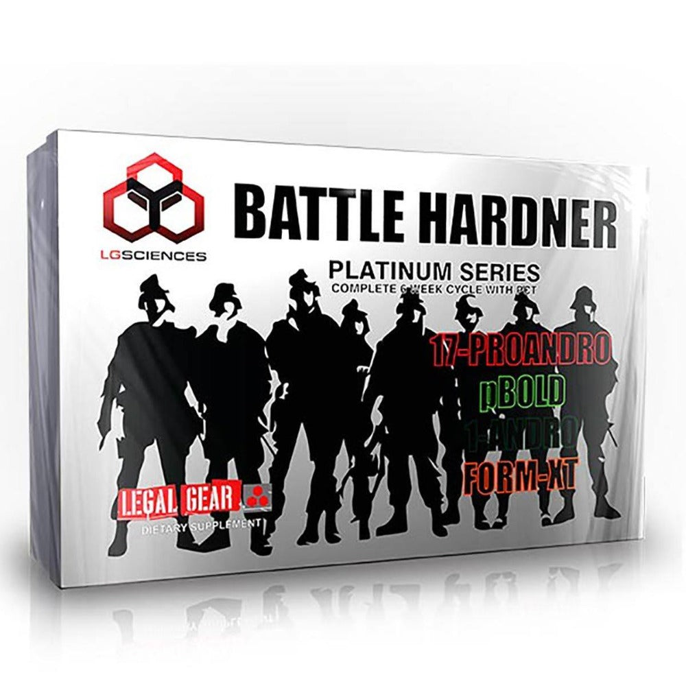 LG Sciences Battle Hardener Kit Testosterone Boosters LG Sciences  (1059175792683)